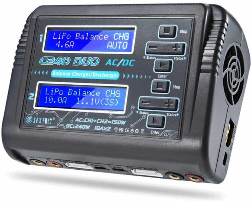 EV PEAK CQ3 LiPo Battery Balance Charger, 100W*4
