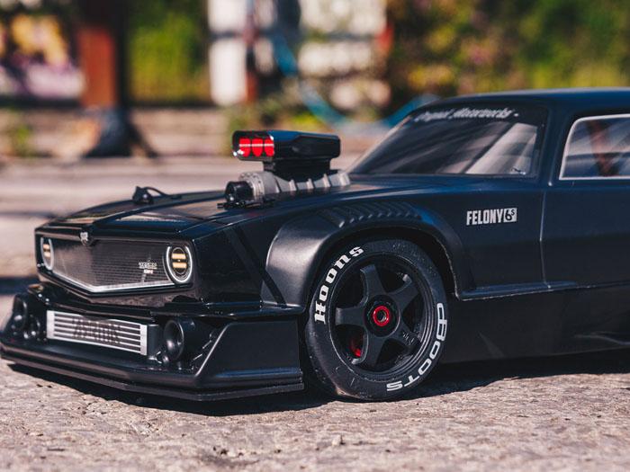 ARRMA 17 Felony 6S BLX Street Bash All-Road Muscle Car RTR Any Good
